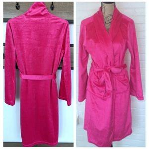 Hot Pink Silky Microfleece Ulta Beauty Robe
